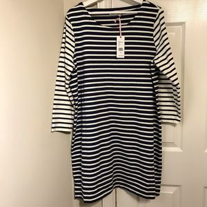 Vineyard Vines Mixed Striped Knit Dress